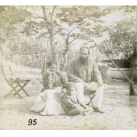 A Leshoma, nos voisins M. et Mme Blockley, marchands