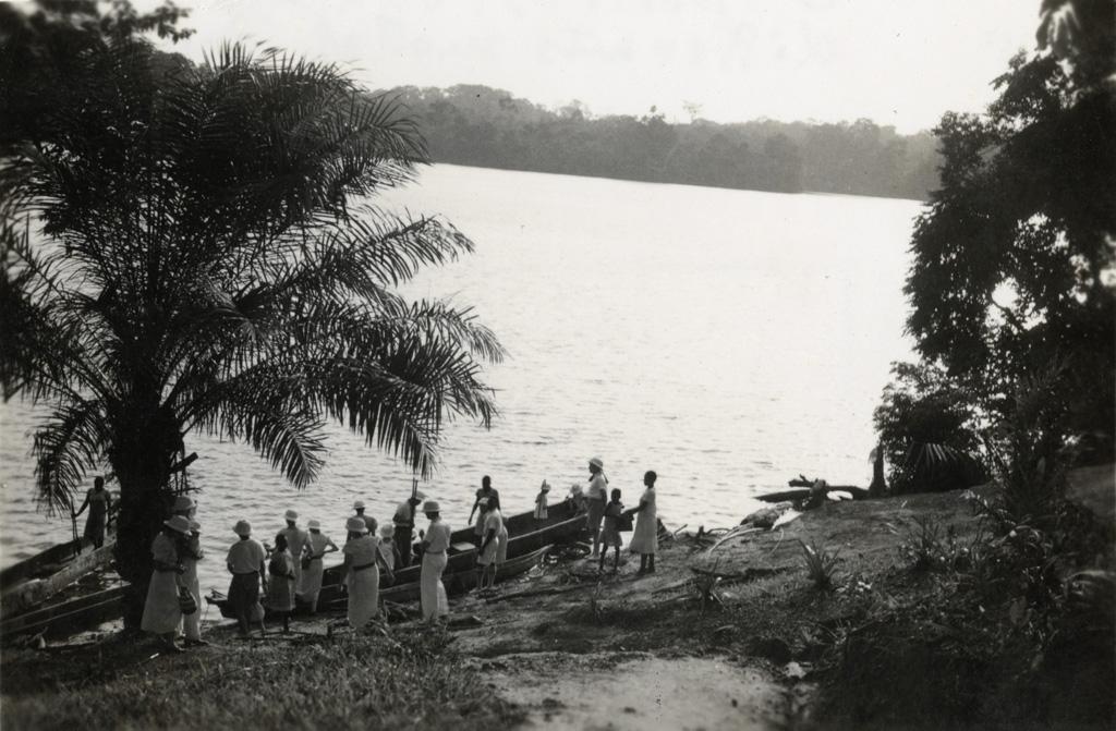 A Métora, le lac