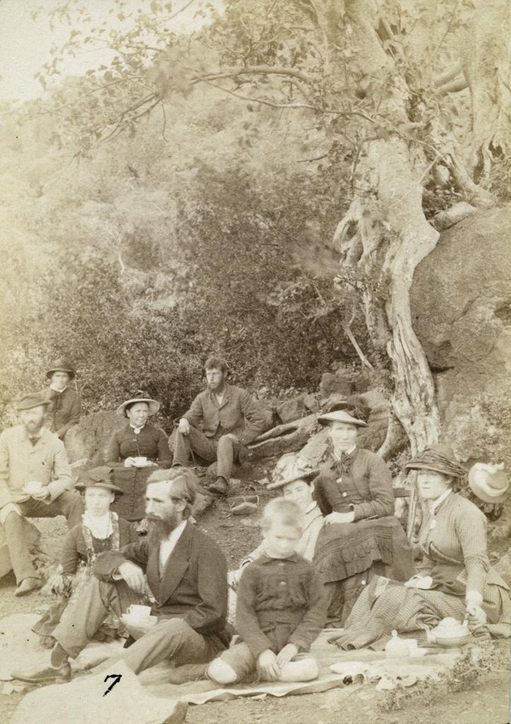 A Saul's Poort, pique-nique avec la famille Gonin