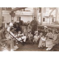 A bord de l'Asie, le coin de la famille missionnaire