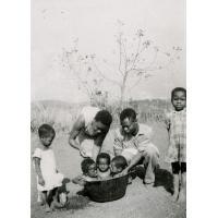 A la pouponnière de Bangwa