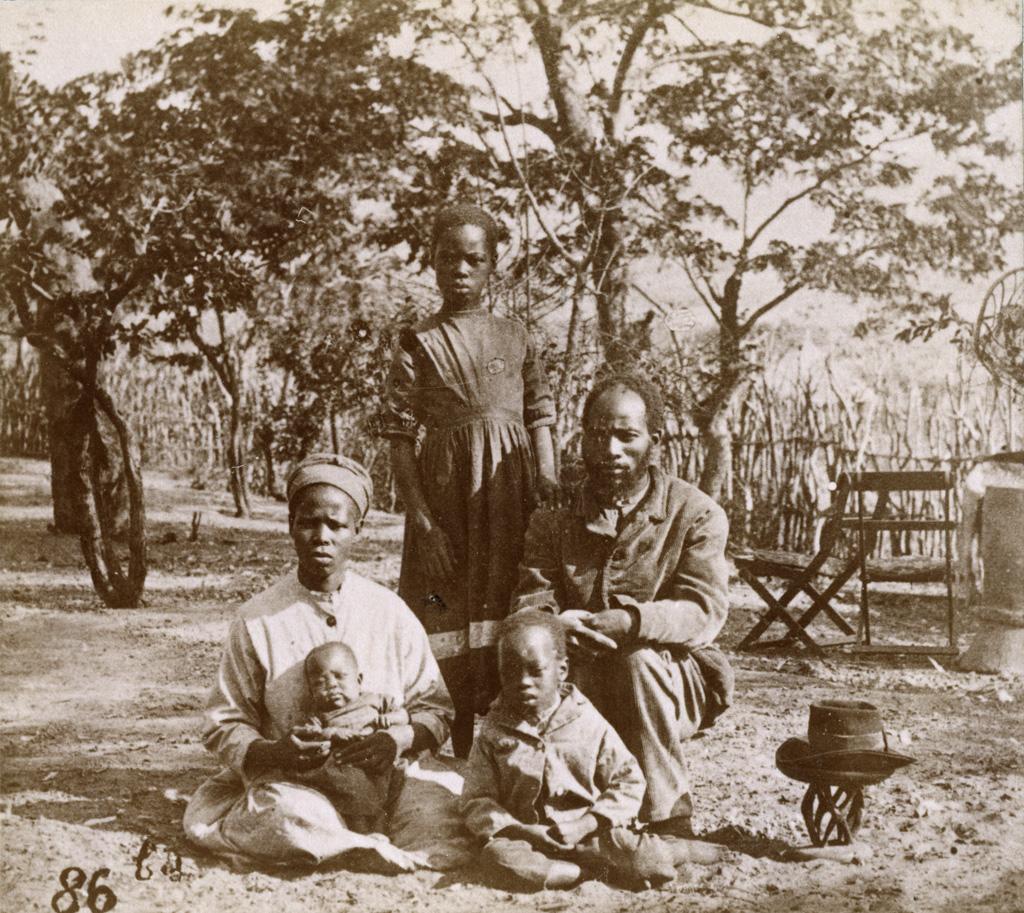 Aaron et sa famille / François Coillard (1884/1886)