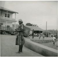Abords du marché central de Yaoundé