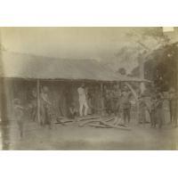 Achat d'ivoire à Bonga (Sanga)