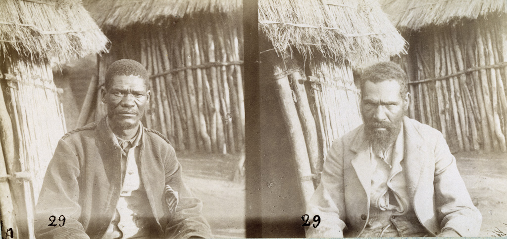 Africa et Yantje, chasseurs / François Coillard (1884/1886)