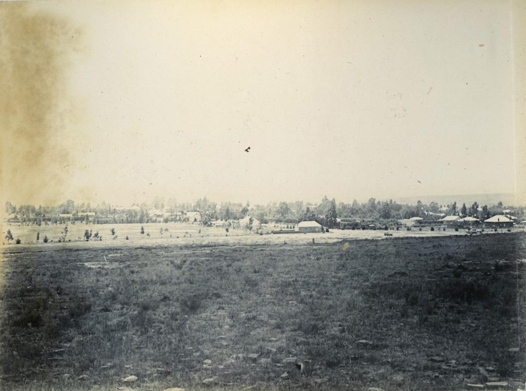 Alival-North, station terminus du Chemin de fer, en direction du Lessouto / Théophile Burnier (1896)