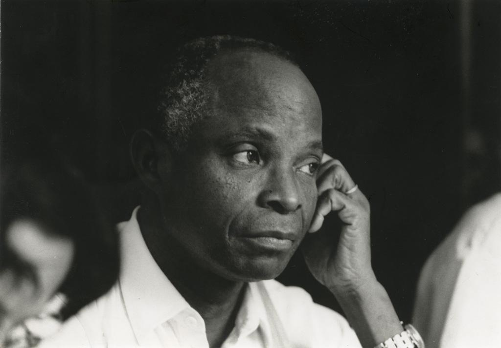 Amétéfé Nomenyo, secrétaire théologique de la Cevaa / Bertrand de Luze (1985-02)