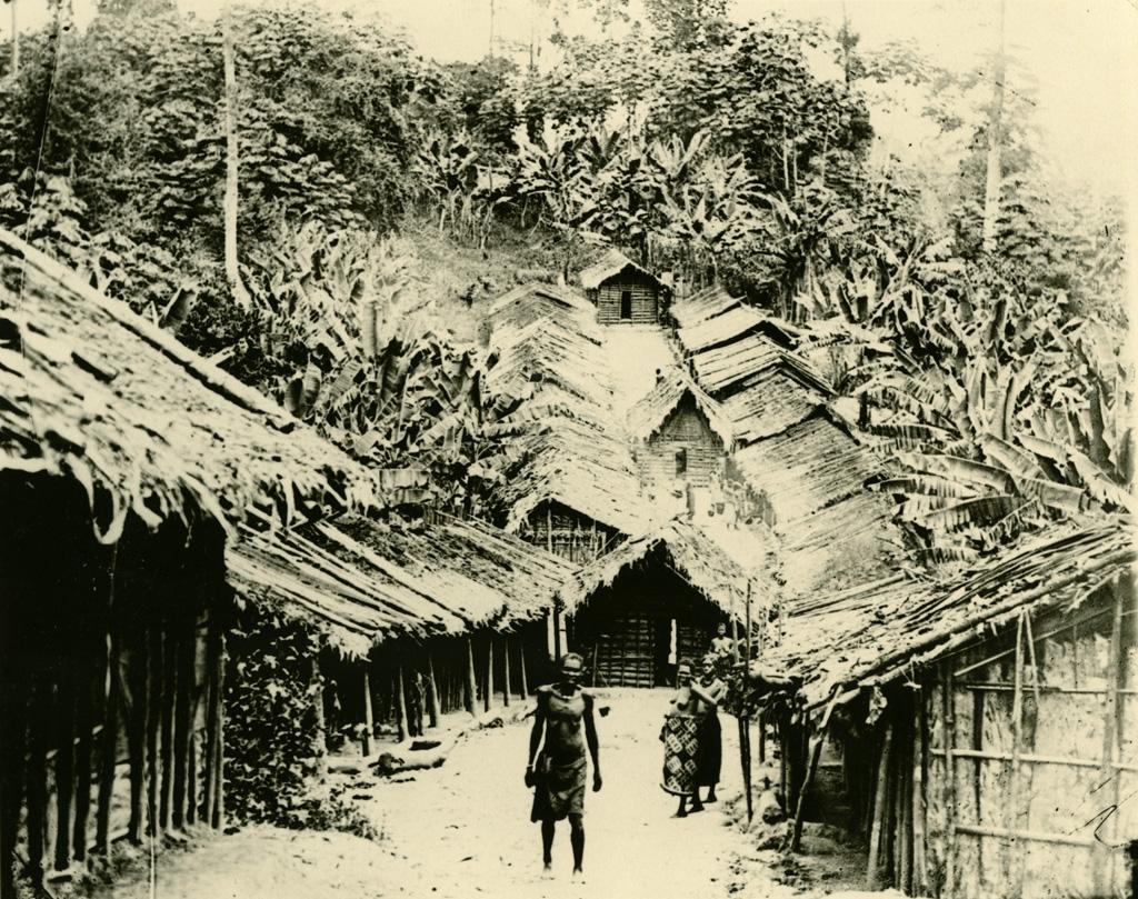 Ancien village Fang