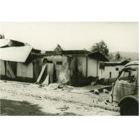 Après un raid terroriste, à Bangangté