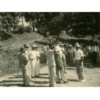 Arrivée au synode du bas Ngomo