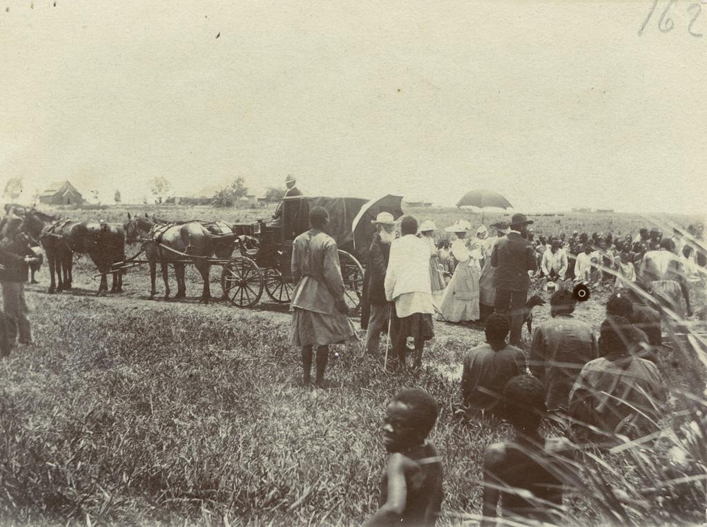 Arrivée de M. Coillard au Zambèze en décembre 1902 / non identifié