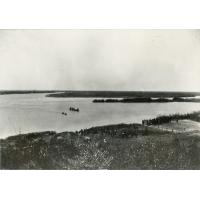 Arrivée de la Nalikwanda (barque royale) de Lewanika à Senanga