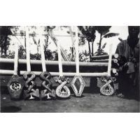 Art Bamoun, pieds de lit en bois sculptés