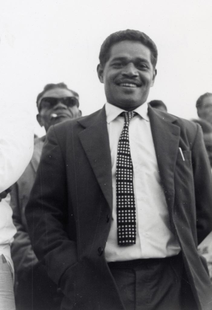 Assemblée des Eglises du Pacifique à Chepenehe, 1966 : Le moniteur de Lifou