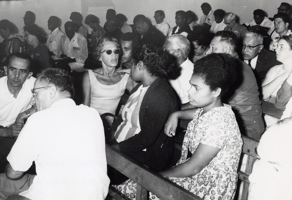 Assemblée des Eglises du Pacifique à Chepenehe, 1966 : la délégation française de Tahiti et de Nouvelle-Calédonie / Pierre Seidenbinder (1966-05-25/1966-06-07)