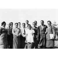 Assemblée des Eglises du Pacifique à Chepenehe, 1966 : les délégués des Iles Samoa