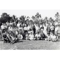 Assemblée des Eglises du Pacifique à Chepenehe, 1966 : photo de groupe des délégués