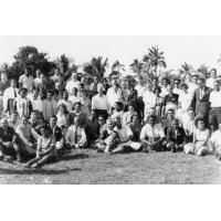 Assemblée des Eglises du Pacifique à Chepenehe, 1966 : photo de groupe