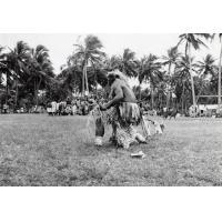 Assemblée des Eglises du Pacifique à Chepenehe, 1966 : un danseur
