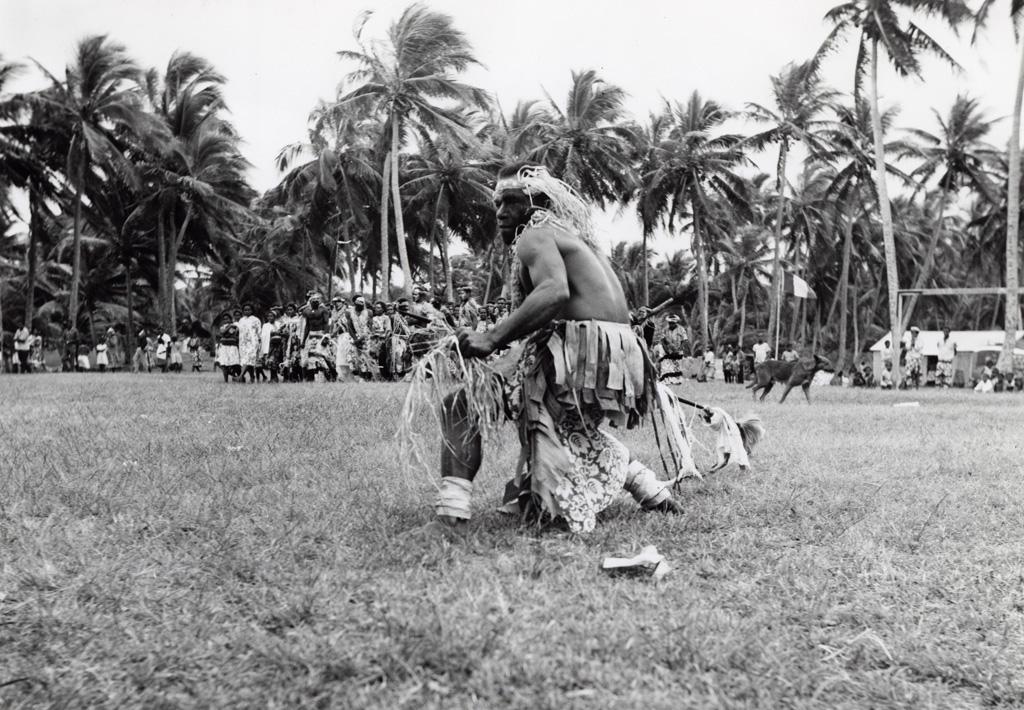 Assemblée des Eglises du Pacifique à Chepenehe, 1966 : un danseur / Kaen (1966-05-25/1966-06-07)