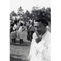 Assemblée des Eglises du Pacifique à Chepenehe, 1966 : un délégué des Samoa