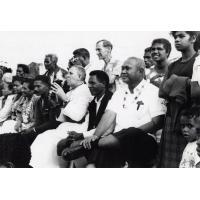 Assemblée des Eglises du Pacifique à Chepenehe, 1966 : un groupe de délégués anglicans