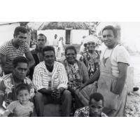 Assemblée des Eglises du Pacifique à Chepenehe, 1966 : une des équipes de service pour la préparation des repas