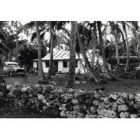 Assemblée des Eglises du Pacifique à Chepenehe, 1966 : une des maisons de Chépénéhé où furent hébergés des délégués