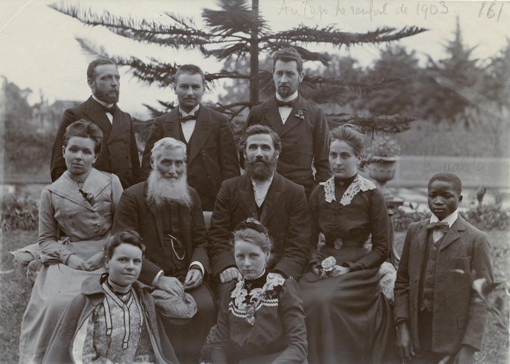 Au Cap, renfort de 1903