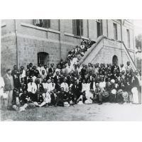 Au foyer chrétien de Tananarive, premier congrès de la Croix-Bleue malgache