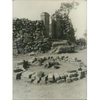 Autel au coin nord-est du tombeau d'un chef Vazimba