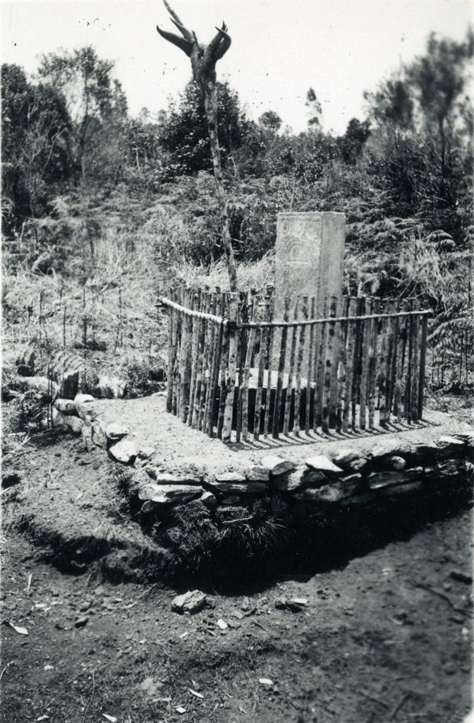 Autel aux ancêtres en région Tanala