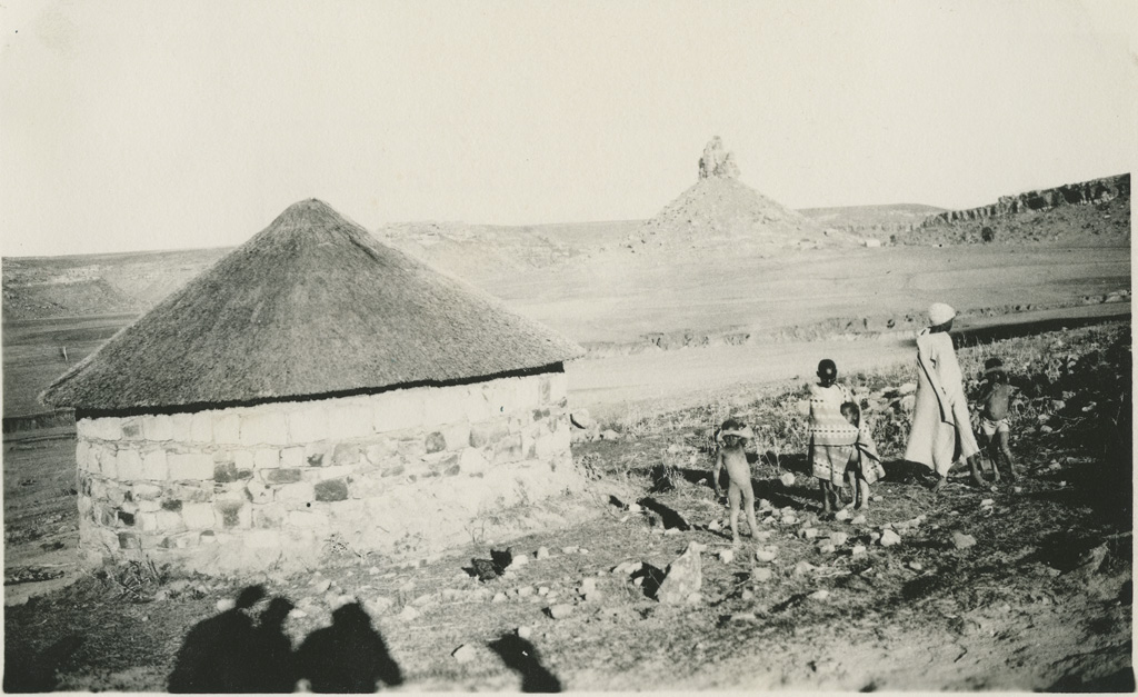 Aux environs de Thaba-Bosiu