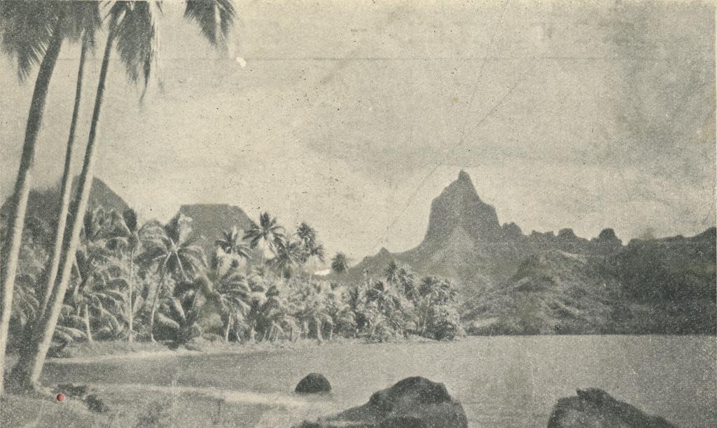Baie de Papetoi, Moorea