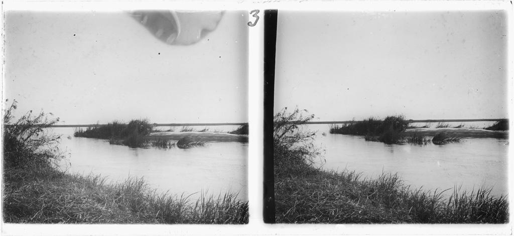 Banc de sable sur la rivière Borotsé