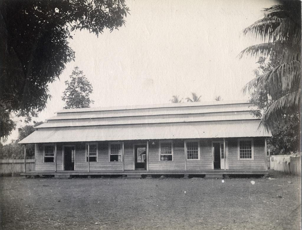 Bâtiment d'une école maternelle (ou salle d'asile) à Moorea