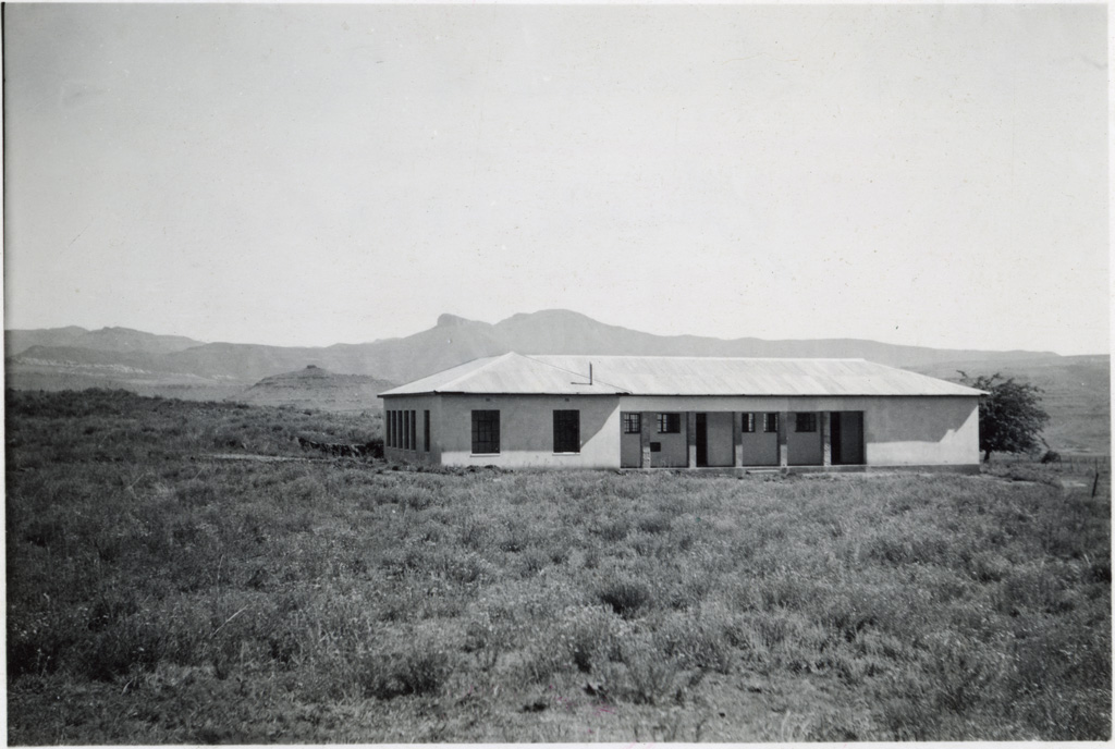 Bâtiment de l'école secondaire de Massitissi