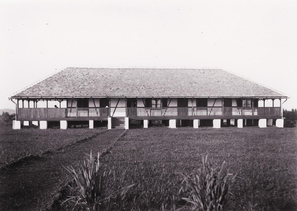 Bâtiment de la mission à Foumban