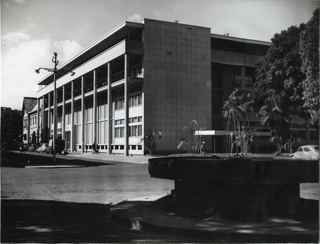 Bâtiment de la trésorerie générale, avenue de France