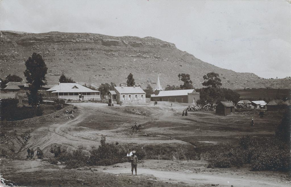Bâtiments de la station missionnaire de Morija