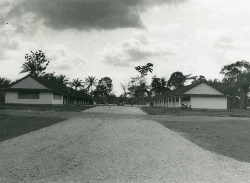 Bâtiments du collège de Libamba