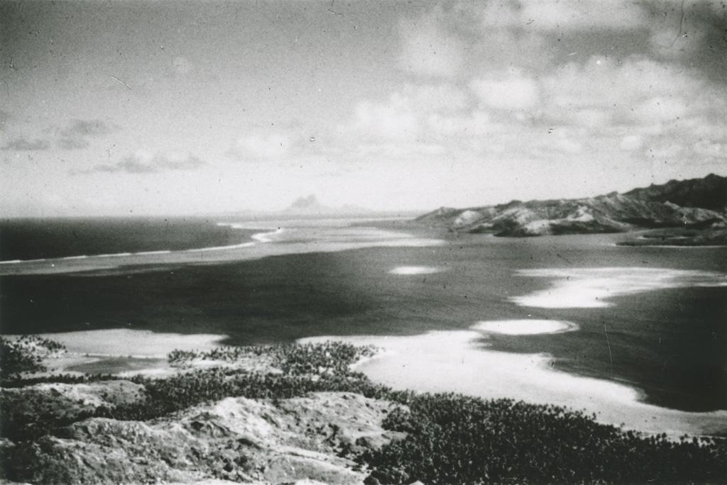 Bora-Bora, au-delà du chenal entre Raïatea et Tahaa