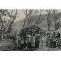 Bureau de vote dans la commune de Koupaar
