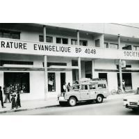 CLE et la société biblique, le bibliobus du Gabon se ravitaille