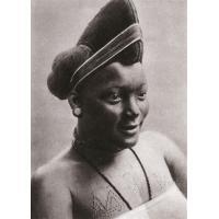 Cameroun - Type de coiffure indigène