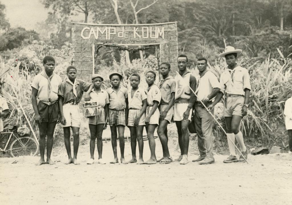 Camp du scoutisme français : la patrouille des Coqs gagnante