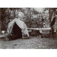Campement sur les rives de l'Abana