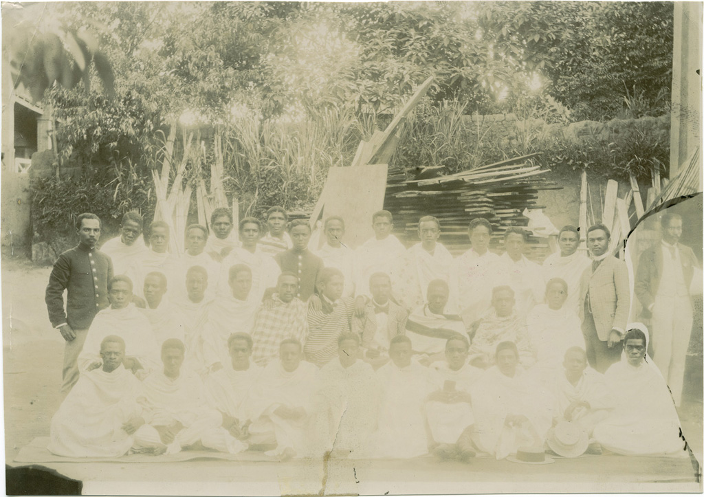 Candidats de la Mission Protestante Française reçus