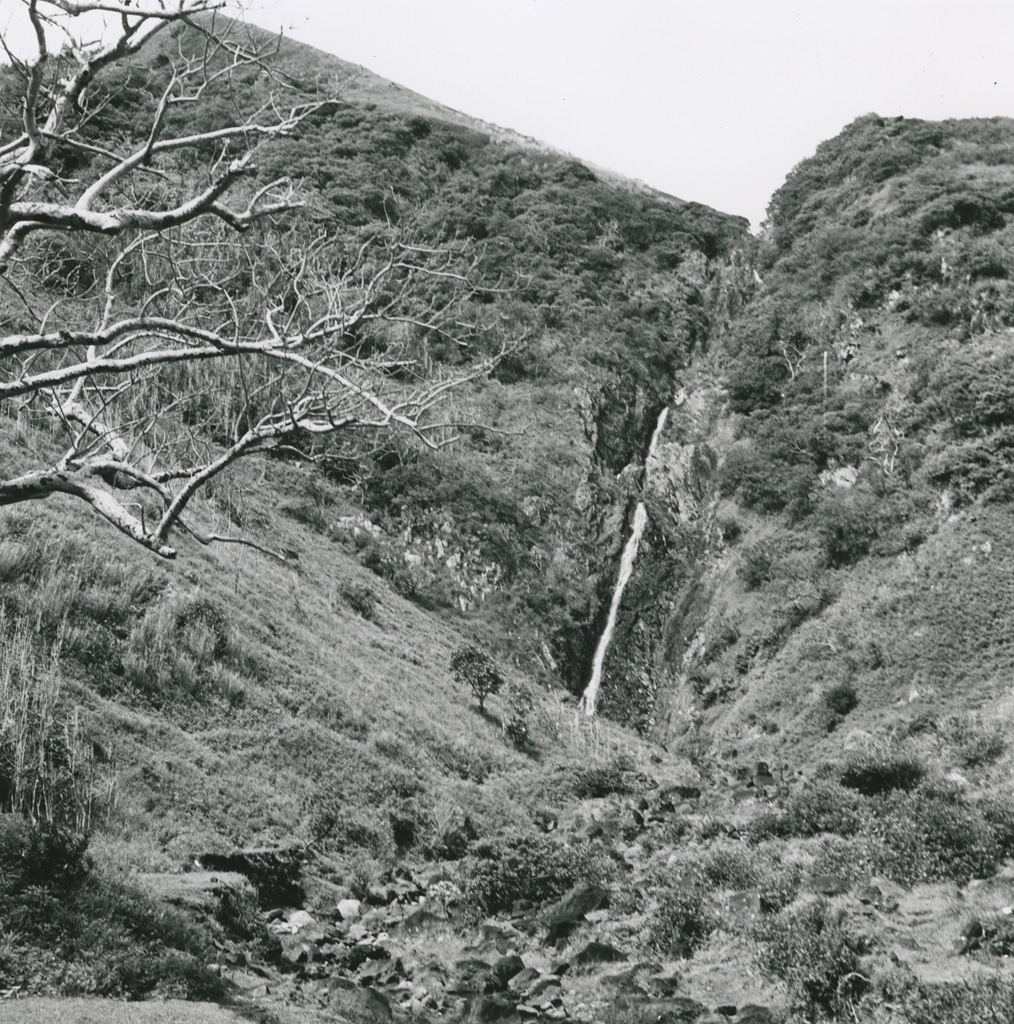 Cascade de la Tumu, île Rapa