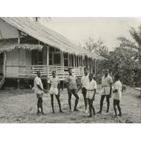Case Vernier, première maison du docteur Schweitzer à Lambaréné